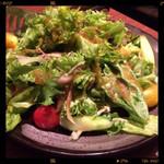こすぎ畑 - お通しのサラダ