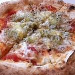 27920811 - しらすとにんにくのピザ