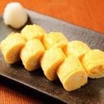 日本一の地鶏・比内地鶏の卵の出し巻き玉子