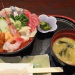 27921846 - ランチ 丼ガバチョ 1050円 【 2014年6月 】