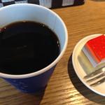 27922360 - プチデザートにコーヒーも付きます