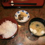 円花亭 - ご飯セット420円