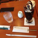 珈琲館 - カフェグラッセ500円