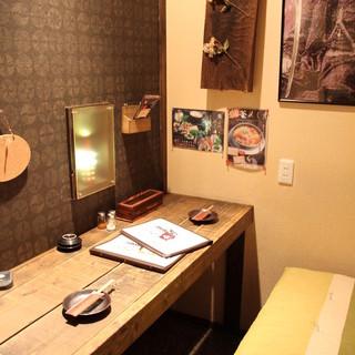 個室は様々なシーンでご利用頂けるよう各種ご用意しております!