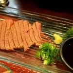源ちゃん - お昼のミニおまかせ(鹿児島和牛 網焼き)