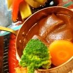 源ちゃん - お昼のミニおまかせ(タンシチュー)