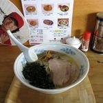 麺龍 - 塩ラーメン(600円)