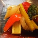 源ちゃん - お昼のミニおまかせ(ピクルス)