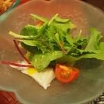 源ちゃん - お昼のミニおまかせ(タコのカルパッチョ)