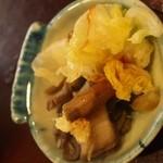 源ちゃん - お昼のミニおまかせ(お漬物)