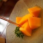 源ちゃん - お昼のミニおまかせ(鹿児島産 完熟マンゴー)