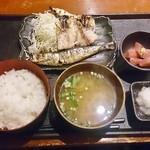 27928496 - 焼き魚三点盛り合わせ定食