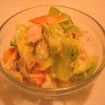 キッチンすもり - 「ツナサラダ」170円