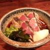 山乃家 - 料理写真:カツオワラ焼きタタキ