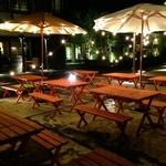 ガーデンバーベキュー - 夜風を感じられるスタイリッシュな空間は居心地バツグン◎会社宴会や友人同士でのお集まりは勿論、観光の思い出にもぴったり◎