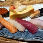 山葵 - 寿司盛り合わせ