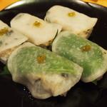 noka table - 蕪のにぎり寿司