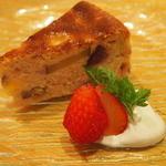 noka table - 紅芋のチーズケーキ