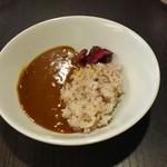 あさくま - 五穀米とカレー