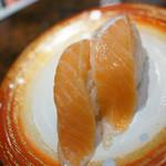 きらら寿司 - 料理写真:大とろサーモン