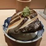 鮨 行天 - マナガツオ焼き物