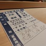 鮨 行天 - チュウボウ 宮城県石巻 定置網67k まぐろの仕入れは『やま幸』