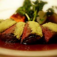 レストラン・フォレスト - 五島牛サーロインのグリル 生山葵風味