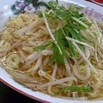 味楽 - 醤油ラーメン500円