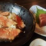 27947155 - 牛肉炙り焼き&かつお刺身②
