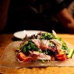 タケル クインディチ - 金目のカルパッチョサラダ