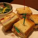 DONQ - モーニングサンドイッチ