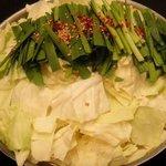 表邸 - モツ鍋(味噌)