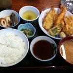 2795617 - 天ぷら定食
