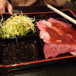 あみ焼肉 かじわら - 焼肉定食