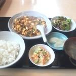 長城 - 麻婆豆腐定食