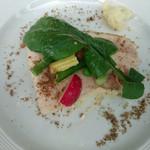 27950708 - ランチA前菜(北海道産どろ豚のローストポークに自家製トンナートソース)