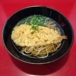 たつみや - 天ぷらそば  ¥330