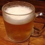 巣あな - 生ビール