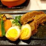 Gotto - 姫路グルメポーク「桃色吐息」のトロトロ柔らか煮豚:880円