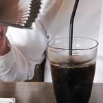 珈琲蔵人 珈蔵 祝谷店 - アイスコーヒー。