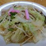千蘭 - 皿うどん。しんなりしてからでも美味しい乾麺がウリ