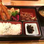 金の翼 エルドール - 日替わり定食(¥819)