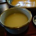 ささくら - 蕎麦湯