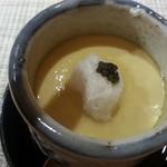 27961248 - フォアグラ茶碗蒸し
