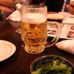 あさり食堂 - ビール