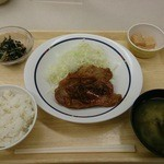 東京大学消費生活協同組合 医科研店 - バランス定食(S) 510円