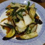 海楽 - 料理写真:野菜炒めあっぷ!