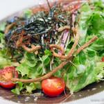 そば道 東京蕎麦style - そば道サラダ【2014年5月】