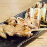 そば道 東京蕎麦style - 焼鳥 もも【2014年5月】