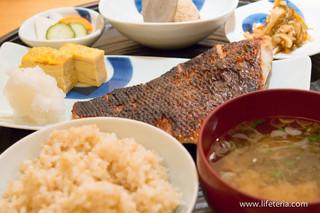 一汁三菜 - 焼魚定食 金目鯛味噌漬け【2014年5月】